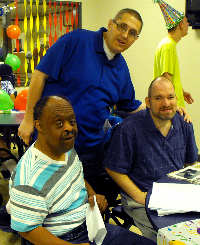 Marimor Industries provides supervised day services in a safe environment for adults with developmental disabilities